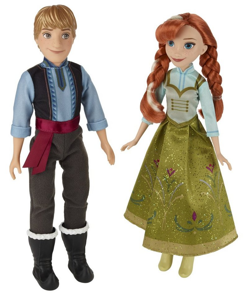 Hasbro Puppen Set, »Disney Eiskönigin - Anna & Kristoff«