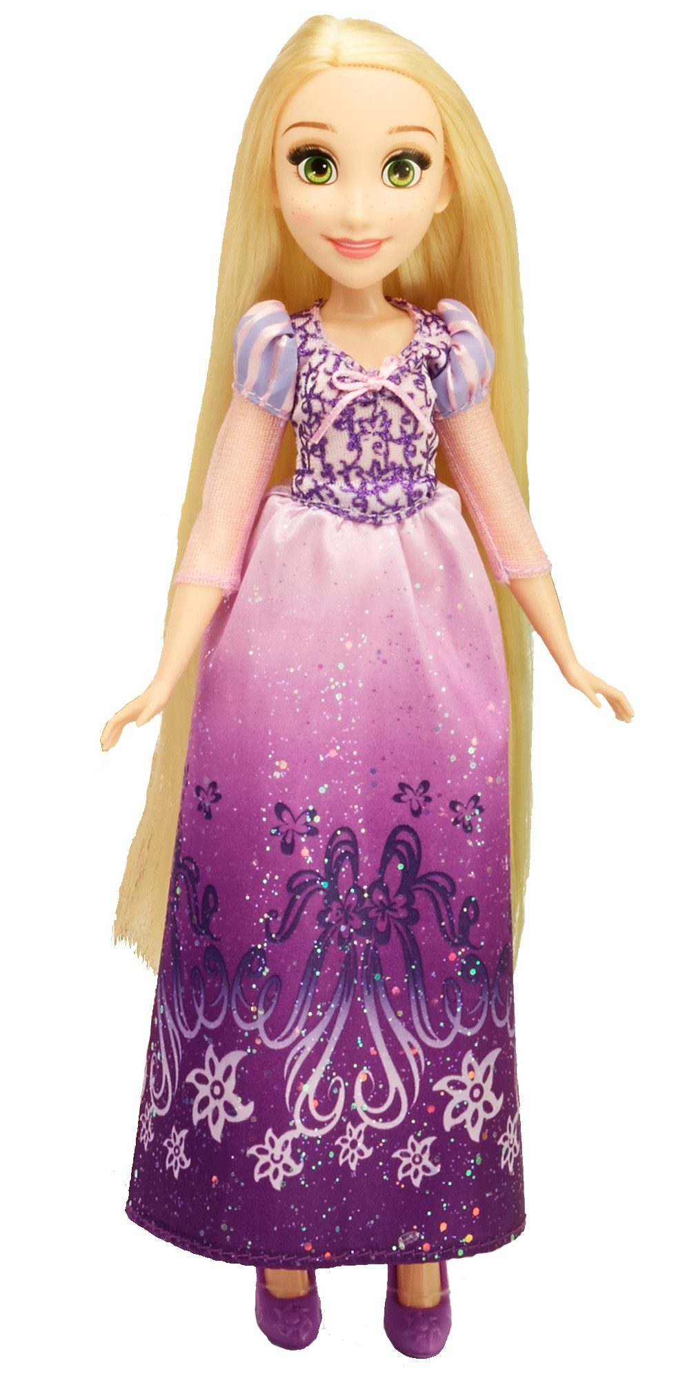 Hasbro Puppe 27 cm, »Disney Princess - Schimmerglanz Rapunzel«