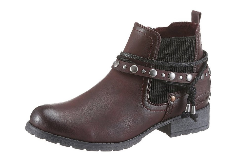 Tom Tailor Chelseaboots in bordeaux