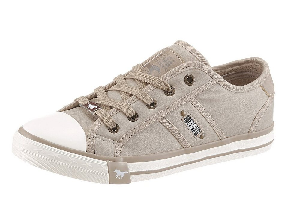 Mustang Shoes Sneaker in taupe