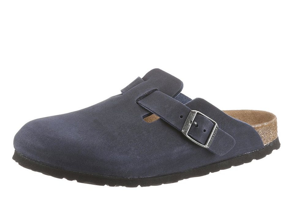 Birkenstock »BOSTON VEGAN« Clog in dunkelblau