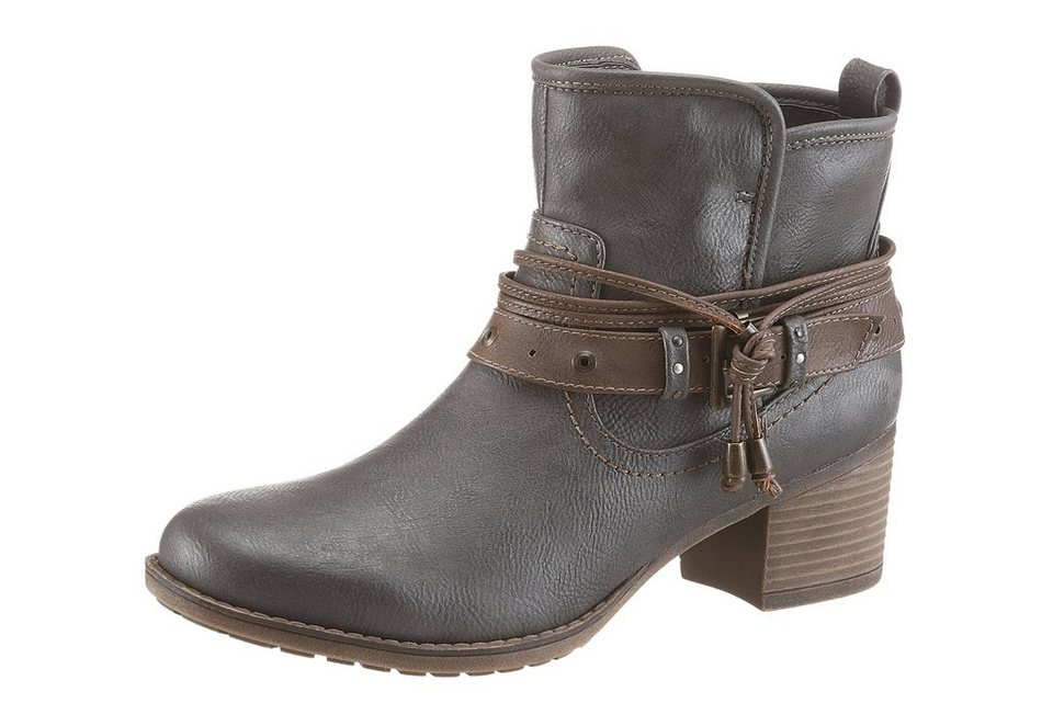 Mustang Shoes Stiefelette in anthrazit