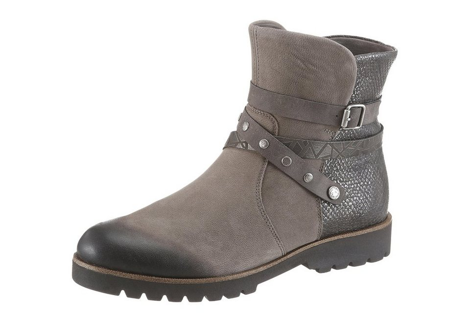 Remonte Stiefelette in taupe
