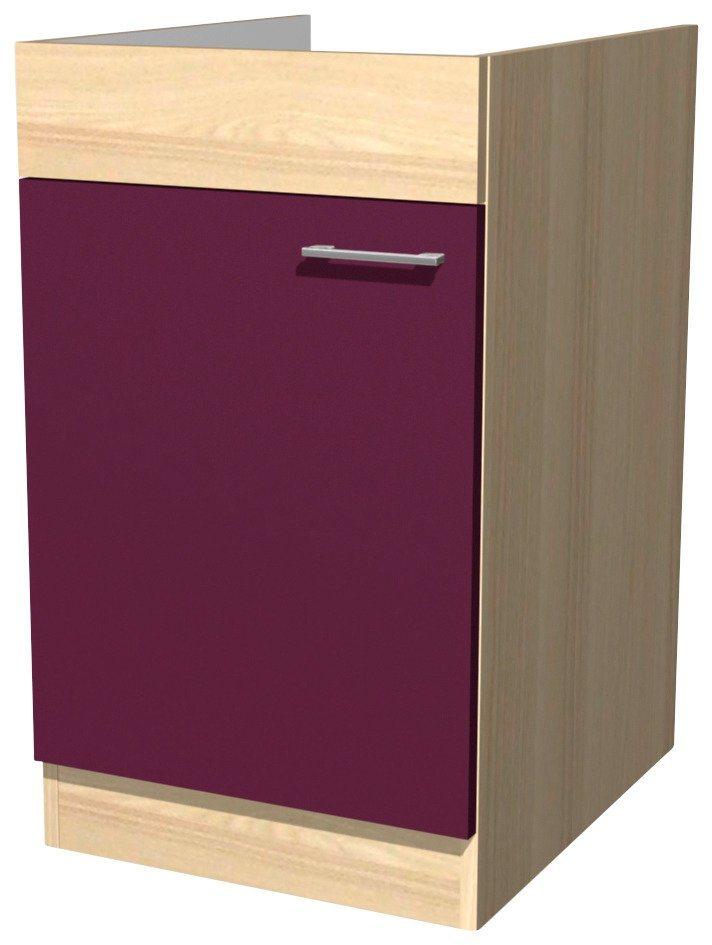 Spülenschrank »Portland, Breite 50 cm« | Küche und Esszimmer > Küchenschränke > Spülenschränke | Holzwerkstoff | Flex-Well