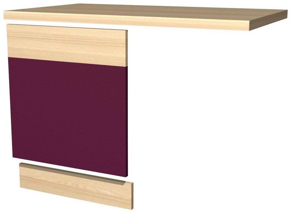 Geschirrspülerpaket »Portland«, 3er-Set in auberginefarben/akaziefarben