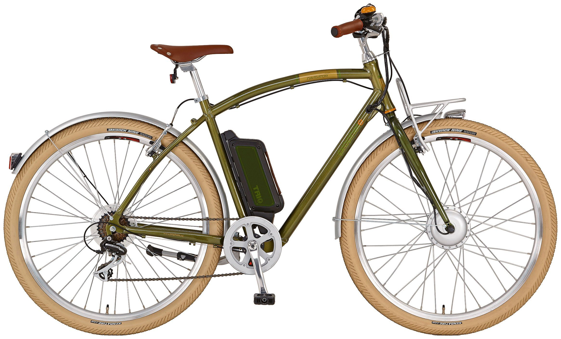 Prophete E-Bike City Herren » NAVIGATOR FLAIR«, 28 Zoll, 8 Gang, Frontmotor, 374 Wh