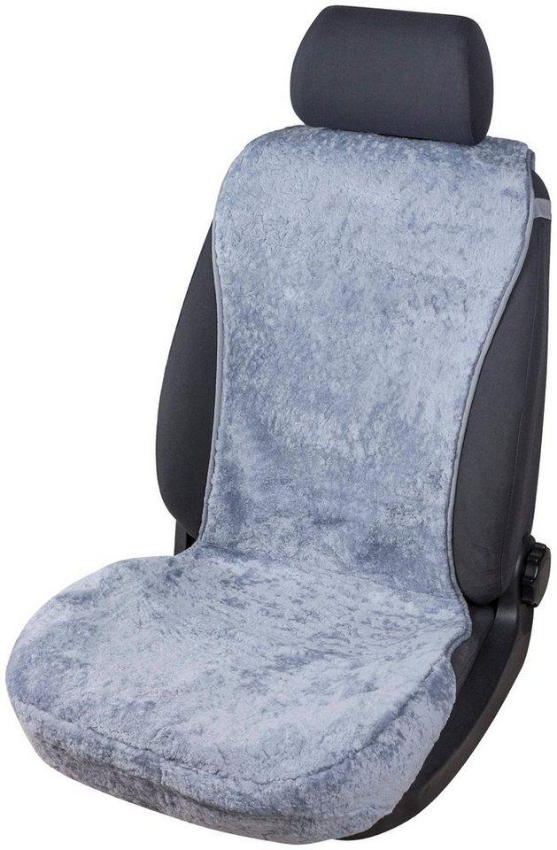 Autositzauflage »Lammfell grau« in grau