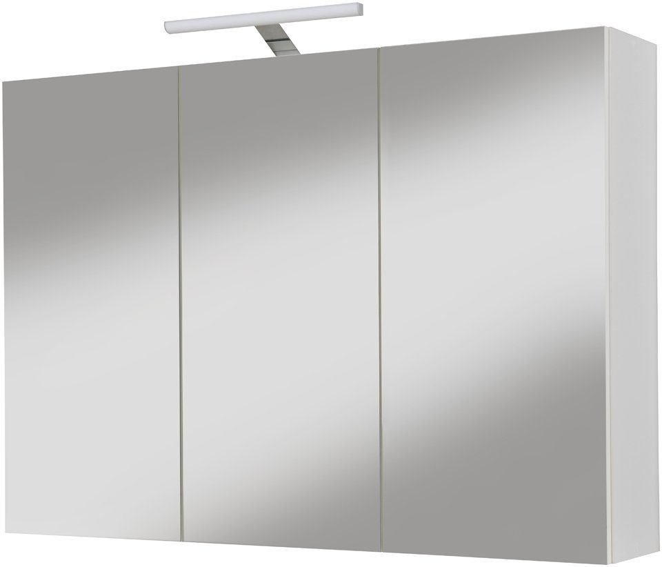 Spiegelschrank »Sina« Breite 96 cm, mit LED-Beleuchtung