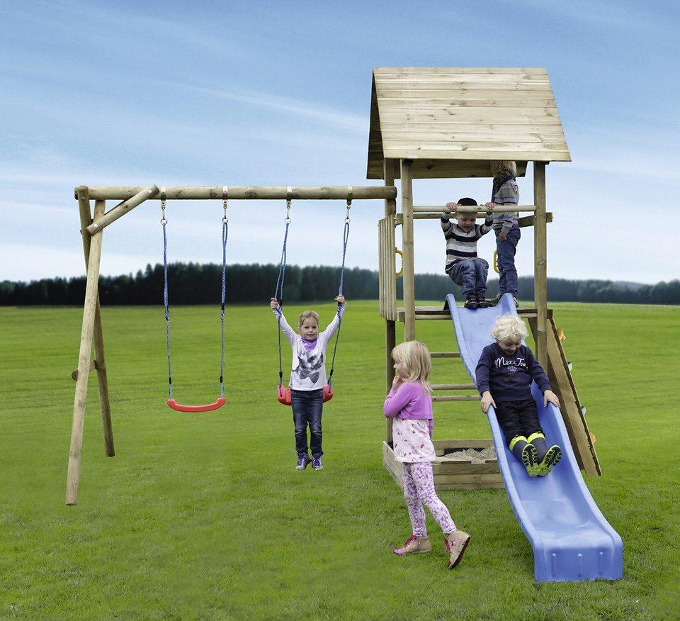 Spielturm »Alex 04 mit Kletterwand«