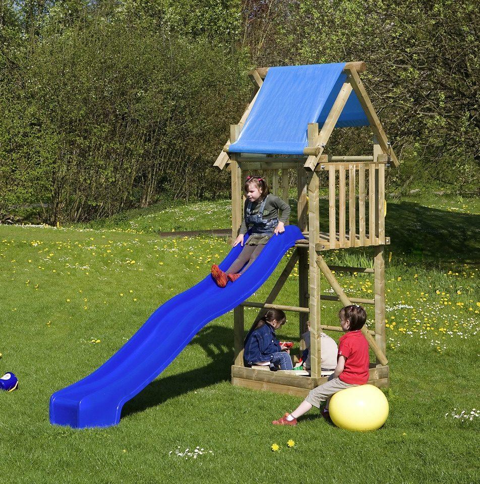 Spielturm »Alex 5 + Rutsche«