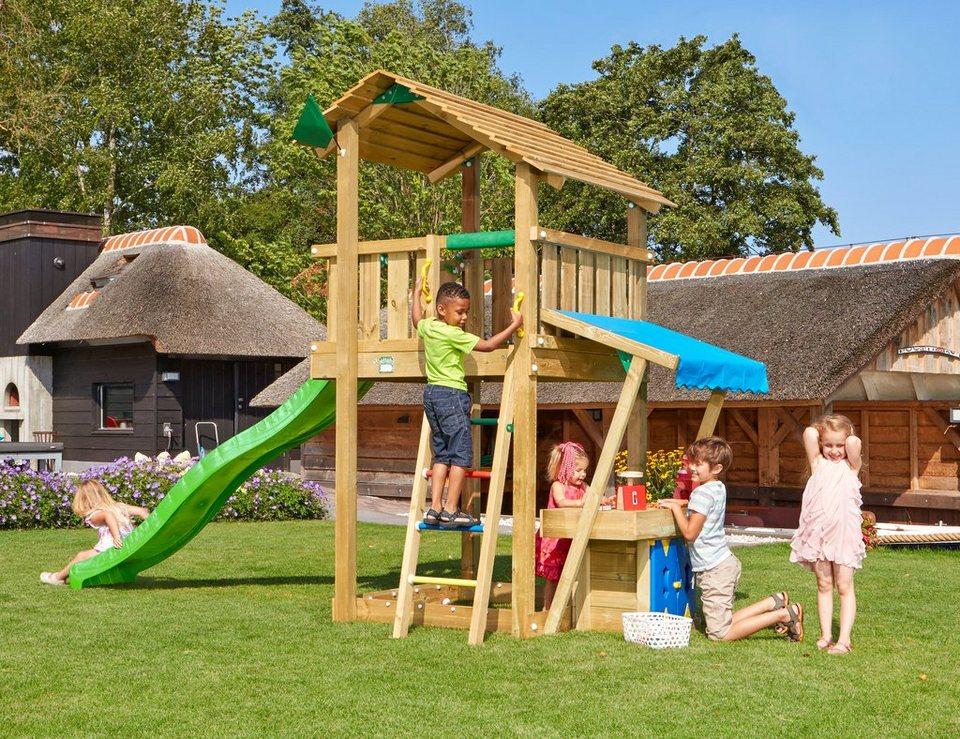 Spielturm »Jungle Shelter Mini Market«, Gesamtmaße (B/T/H): 265/440/290 cm