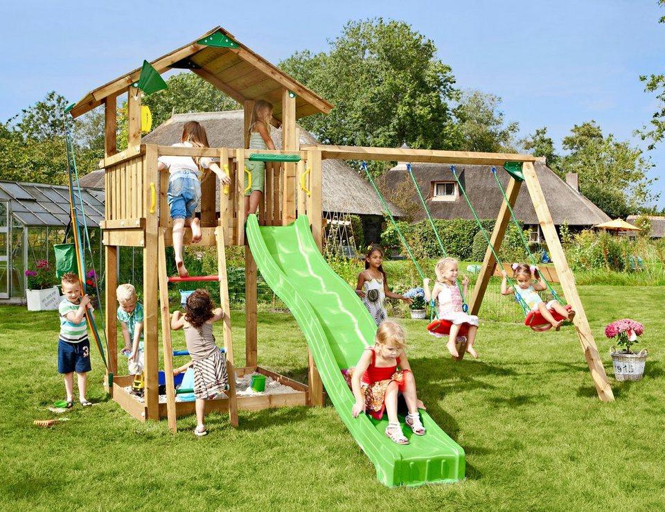 Spielturm »Jungle Chalet«, Gesamtmaße (B/T/H): 295/365/310 cm