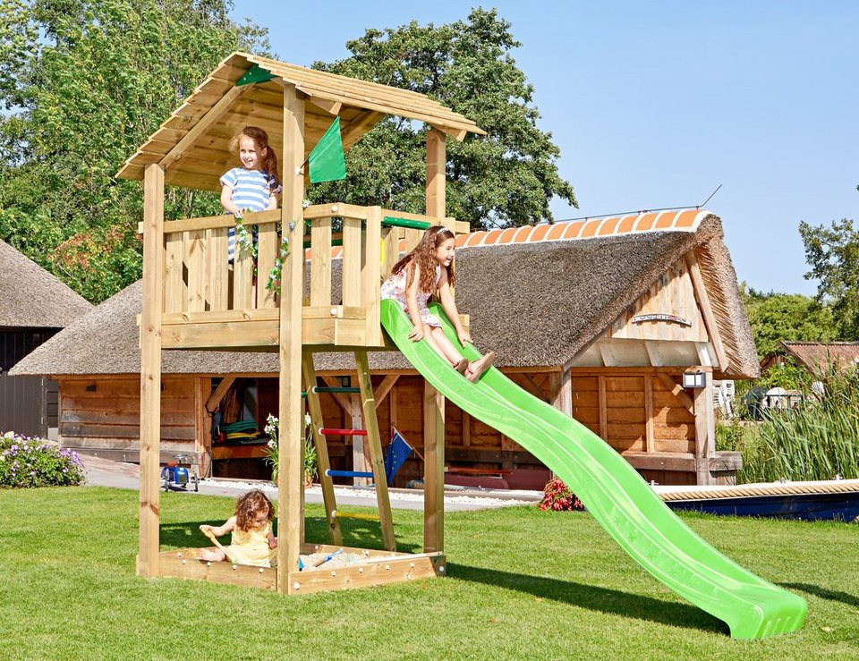 Spielturm »Jungle Shelter«, Gesamtmaße (B/T/H): 180/400/290 cm