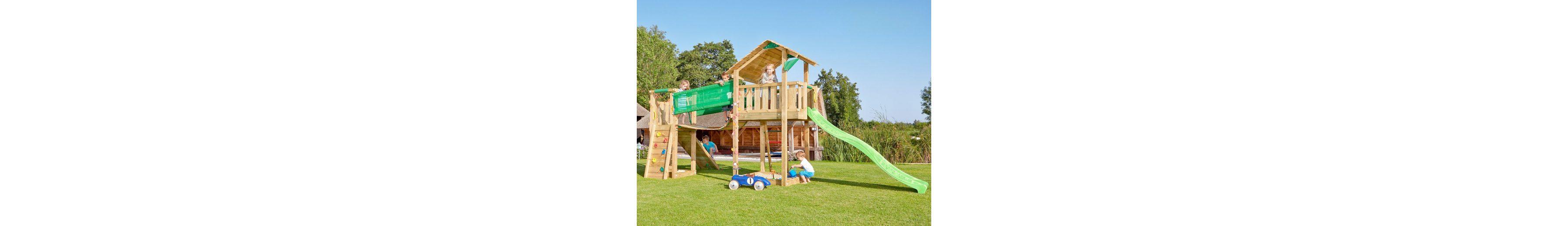 Spielturm »Jungle Shelter Bridge«, Gesamtmaße (B/T/H): 415/365/290 cm