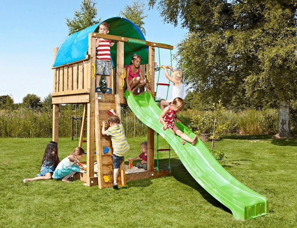 Spielturm »Jungle Villa«, Gesamtmaße (B/T/H): 170/390/270 cm