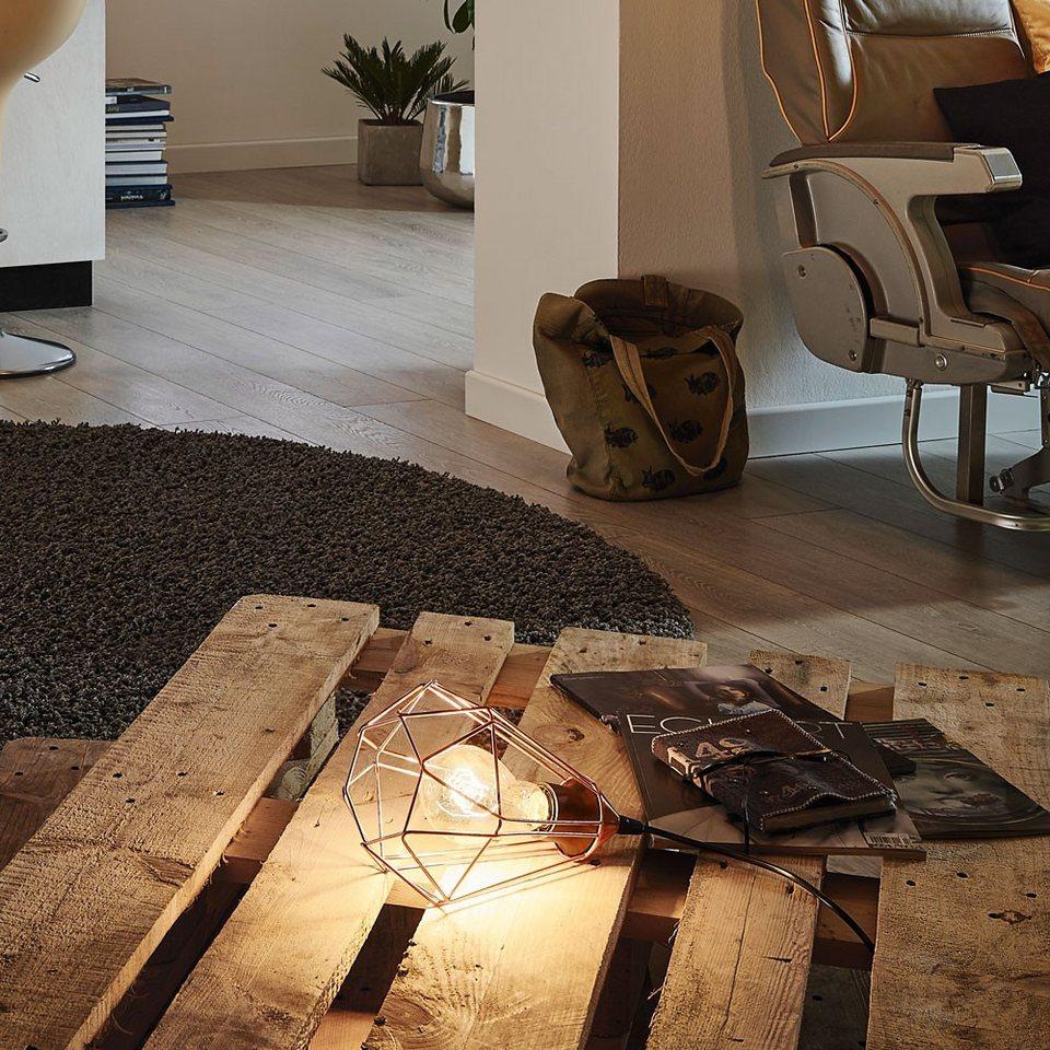 Licht-Trend Tischleuchte »Archaic Tischleuchte im Vintage-Look in Kupfer« in Braun