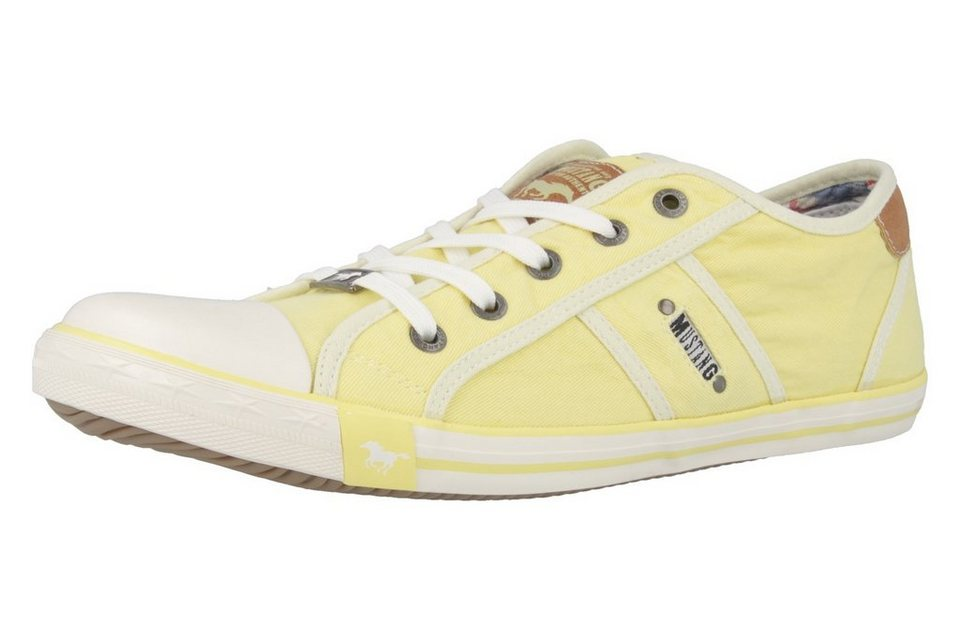 Mustang Sneaker in Gelb