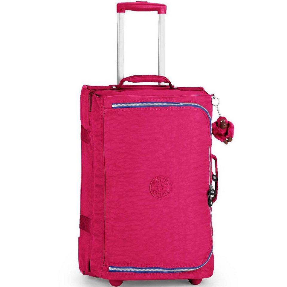 Kipling Basic Travel Teagan 15 S 2-Rollen Kabinentrolley 56 cm in flamb pink ink