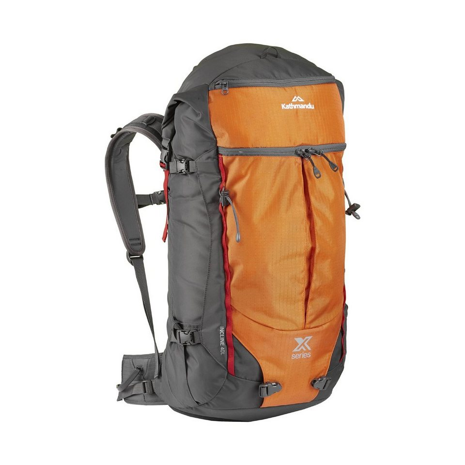Kathmandu 40 Liter Alpinrucksack »XT Incline« in Graphite/Orange