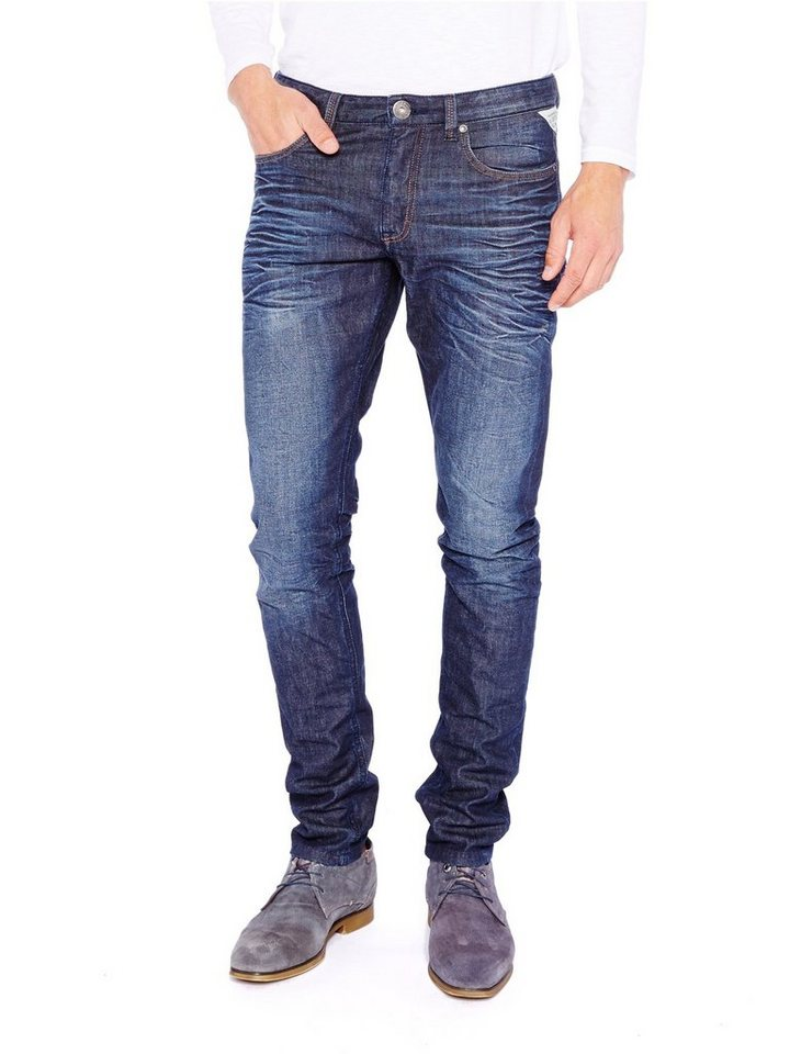 COLORADO DENIM Jeans »C938 TAPERED« in blue coated