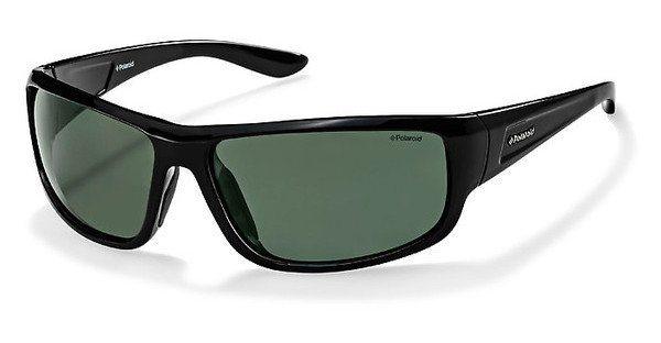 Polaroid Herren Sonnenbrille » P8414« in KIH/RC - schwarz/grün