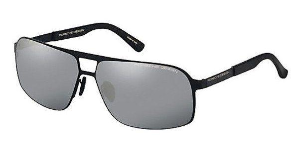 Porsche Design Herren Sonnenbrille » P8579« in B - schwarz/silber