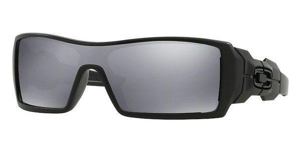 Oakley Herren Sonnenbrille »Oil Rig OO9081« in 03-464 - schwarz/schwarz