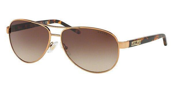 Ralph Damen Sonnenbrille » RA4004« in 104/13 - braun/braun