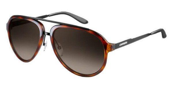 Carrera Herren Sonnenbrille » CARRERA 96/S« in 6C1/HA - schwarz/braun