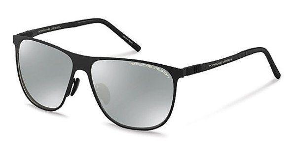 Porsche Design Herren Sonnenbrille » P8609« in A - schwarz/silber