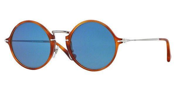 Persol Herren Sonnenbrille » PO3091SM« in 96/56 - braun/blau