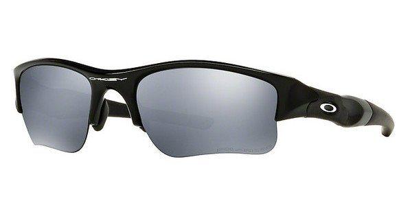 Oakley Herren Sonnenbrille »FLAK JACKET XLJ OO9011« in 12-903 - schwarz/schwarz