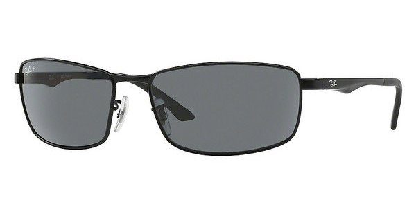 RAY BAN RAY-BAN Herren Sonnenbrille » RB3498«, schwarz, 006/81 - schwarz/blau
