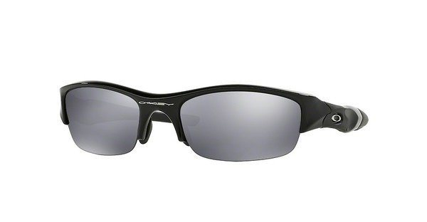 Oakley Herren Sonnenbrille »FLAK JACKET OO9008« in 03-881 - schwarz/schwarz
