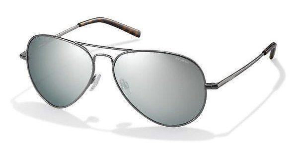 Polaroid Sonnenbrille » PLD 1017/S« in 6LB/JB - silber/ silber