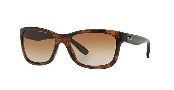 Oakley Damen Sonnenbrille »FOREHAND OO9179« in 917906 - braun/braun