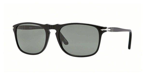 Persol Herren Sonnenbrille » PO3059S« in 95/31 - schwarz/grün