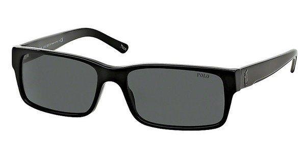Polo Herren Sonnenbrille » PH4049« in 500187 - schwarz/grau