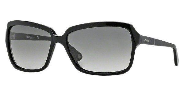 Vogue Damen Sonnenbrille » VO2660S« in W44/11 - schwarz/grau