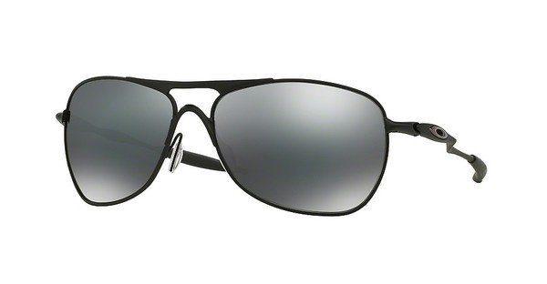 Oakley Herren Sonnenbrille »CROSSHAIR OO4060«, grau, 406002 - grau/rot