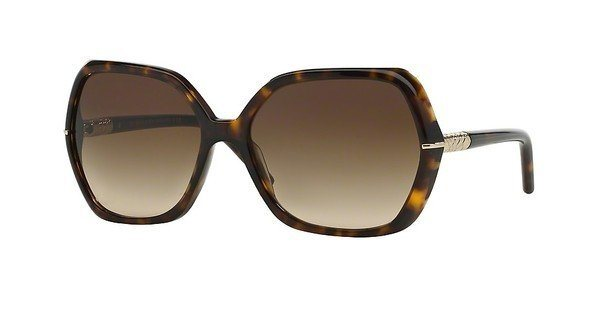 Burberry Damen Sonnenbrille » BE4107« in 300213 - braun/braun