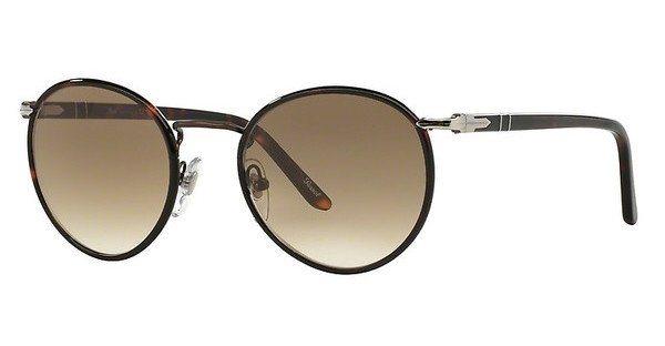 Persol Herren Sonnenbrille » PO2422SJ« in 992/51 - braun/braun