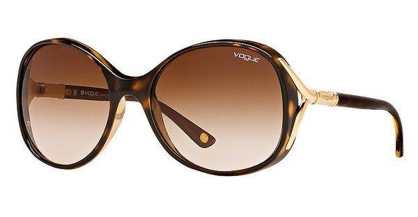 Vogue Damen Sonnenbrille » VO2669S« in W65613 - braun/braun
