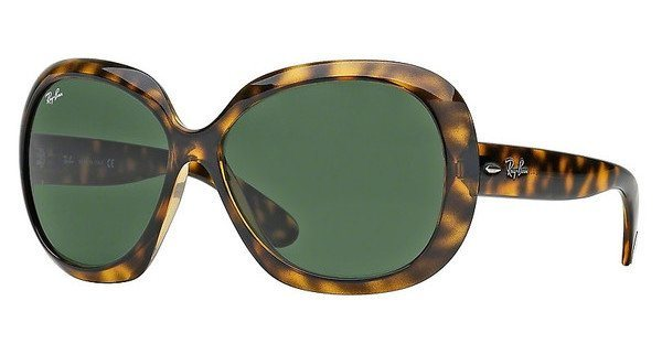 RAY-BAN Damen Sonnenbrille »JACKIE OHH II RB4098« in 710/71 - braun/grün