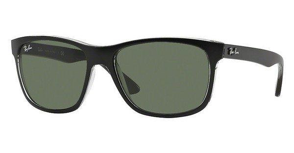 RAY-BAN Herren Sonnenbrille » RB4181« in 6130 - schwarz/grün