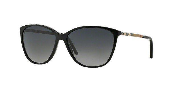Burberry Damen Sonnenbrille » BE4117« in 3001T3 - schwarz/grau