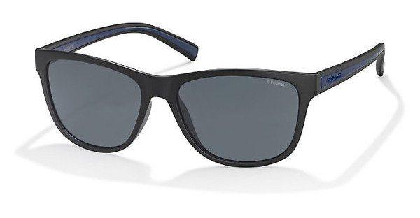 Polaroid Herren Sonnenbrille » PLD 2009/S« in QLF/AH - schwarz/grau