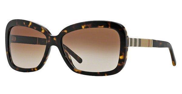Burberry Damen Sonnenbrille » BE4173« in 300213 - braun/braun