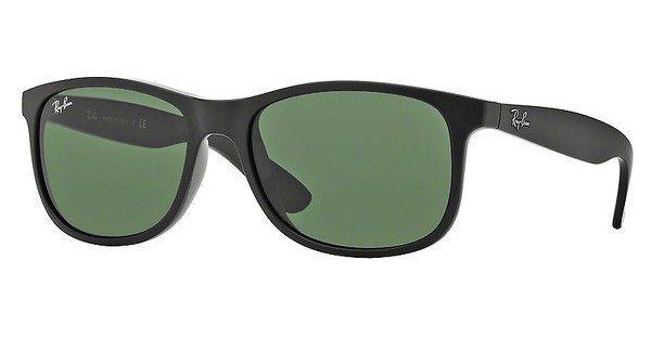 RAY-BAN Herren Sonnenbrille »ANDY RB4202« in 606971 - schwarz/grün