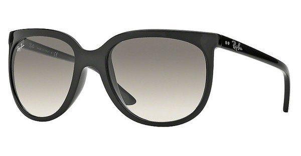 RAY-BAN Damen Sonnenbrille »CATS 1000 RB4126« in 601/32 - schwarz/grau